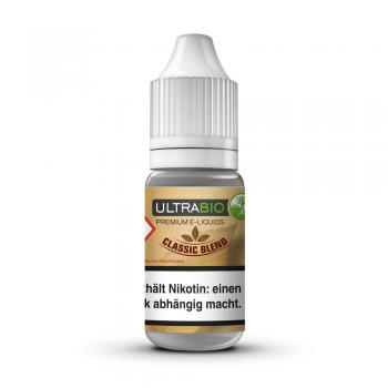Ultrabio Premium E-Liquid Classic Blend 10ml