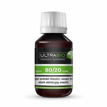 Ultrabio Liquid Basen 250ml  0 mg VG 80/20 PG